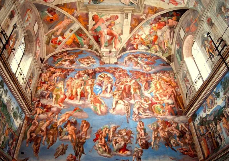 Final Judgement Michelangelo Art