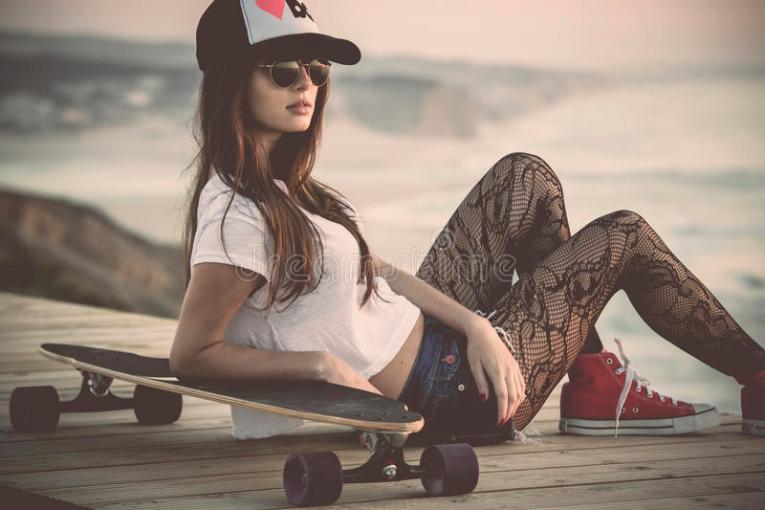 Skater Girl stock photo  Image of latin  outdoor  happy   36229938 Download Skater Girl stock photo  Image of latin  outdoor  happy   36229938