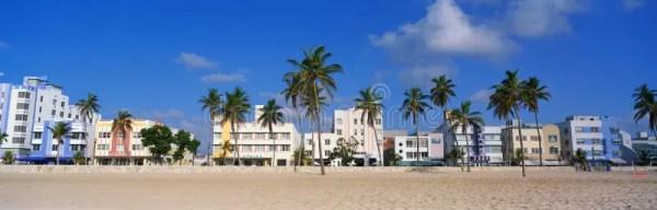South Beach Miami, FL Art Deco District Editorial Stock ...