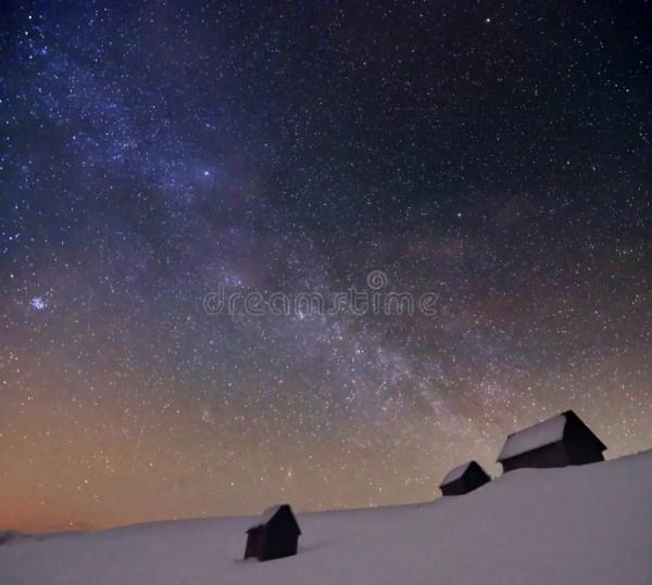 Cloudy star night stock photo Image of citylights