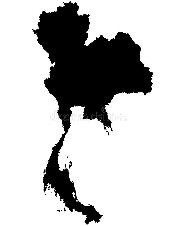 Thailand Map Outline Vector Stock Vector   Illustration of shape     Download Thailand Map Outline Vector Stock Vector   Illustration of shape   geography  112801767