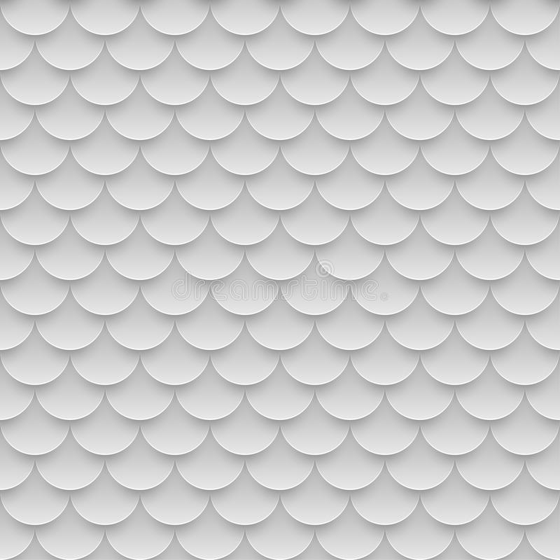 tile fish scales seamless pattern