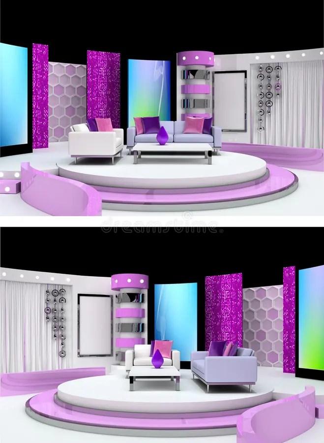 Tv Studio Background Screen