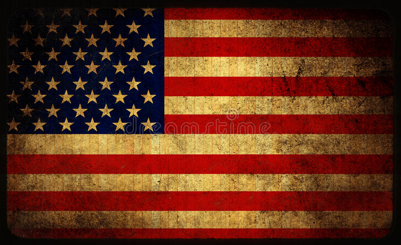 Usa Flag Stock Illustration Illustration Of Dirty Rustic
