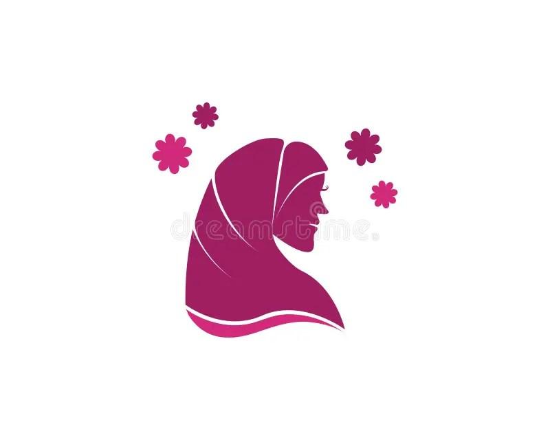 Hijab badeanzug 2er set, islamische bademode, muslimische bademode, hijab badeanzug. Vektor-Schattenbild-Zeichnung Der Moslemischen Frau Mit ...