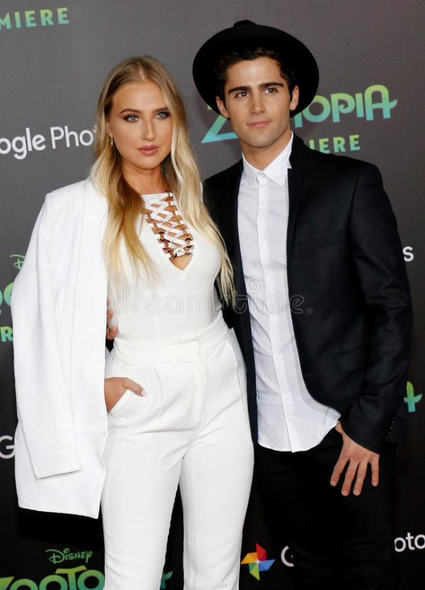 Veronica Dunne And Max Ehrich Editorial Stock Photo ...