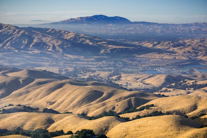 It was established in 1851 as the initial point of the mount diablo base line and. View Towards Mt Diablo At Sunset From Mission Peak East San Francisco Bay Area California Stock Image Image Of Park Colors 135815561
