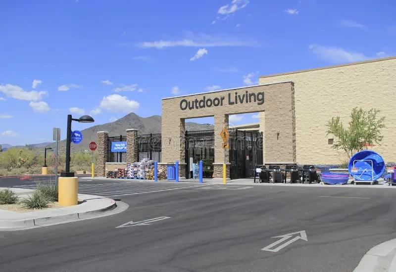 Walmart Supercenter Outdoor Living Center Editorial Image ... on Walmart Outdoor Living  id=23340