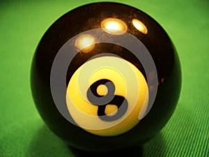 Billiard ball - 8th