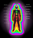 Auras and chakras Royalty Free Stock Photos