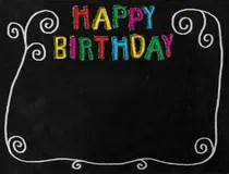 Birthday Border Royalty Free Stock Photos Image 33573718