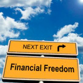 Financial Freedom Royalty Free Stock Photography