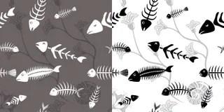 Fischskelett Stockillustrationen 68 Fischskelett