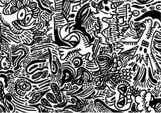 Set Musikalische Symbole Vektor Abbildung Illustration