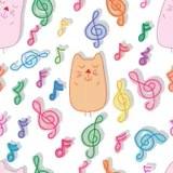 Download Cartoon Shy Cat Land_eps stock vector. Illustration of ...