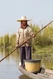 Native Fisherman Stock Photo - Image: 4324400