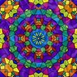 Rainbow Mosaic Kaleidoscope Royalty Free Stock Image