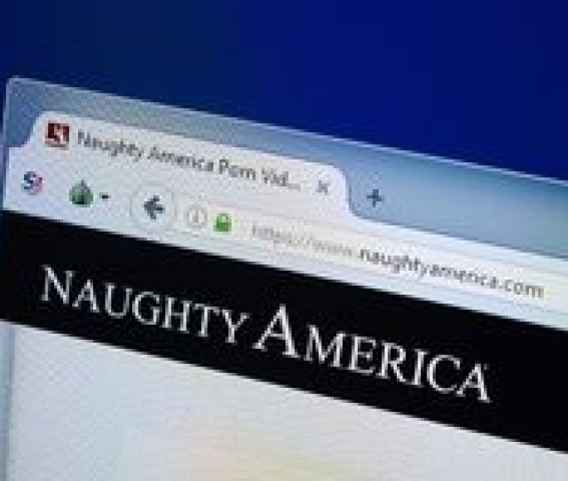 Ryazan Russia August 26 2018 Homepage Of Naughty America Website On The