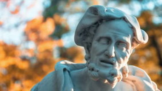 Image result for aristotle sad bust