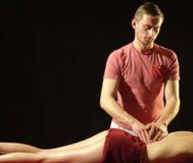 The Girl Enjoys Professional Massage The Guy Makes A Professional