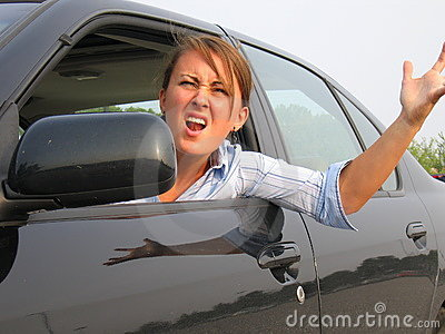Welcome to yes car credit. Angry Woman Yelling Out Car Window Stock Photography