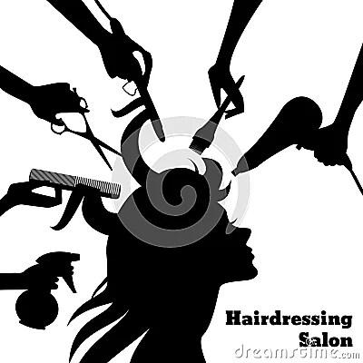 Beauty Salon Concept Stock Vector Image 52279281