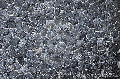Black Stone Texture Surface Royalty Free Stock Images