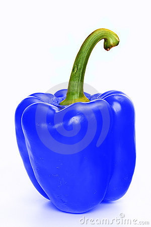 Blue Pepper Royalty Free Stock Photo Image 13675605