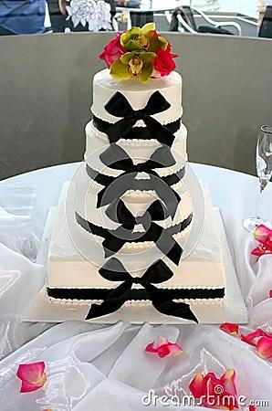 Bow Tie Wedding Cake Stock Photo Image 6070770