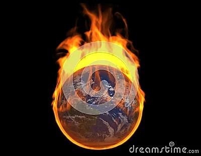 Burning Earth Royalty Free Stock Images Image 16793749