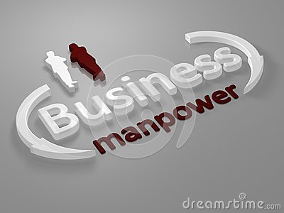 Business - Manpower - letters