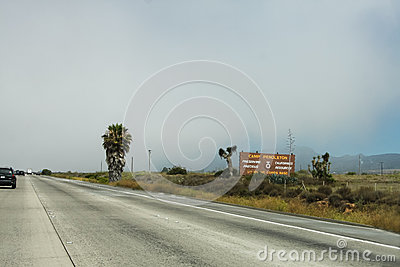 Camp Pendleton Sign In California Editorial Stock Photo ...
