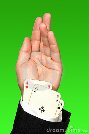 Cheating Poker Player Stock Images - Image: 15030104