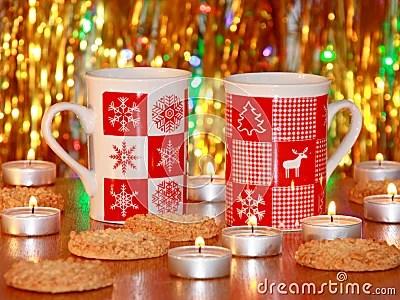 Christmas Card : Xmas Decoration - Stock Photos