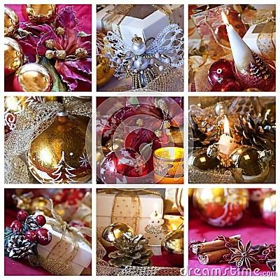 Christmas Collage Stock Photo Image 15928950