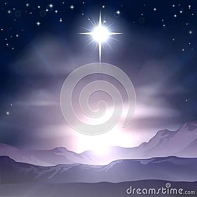 Christmas Star Of Bethlehem Nativity Royalty Free Stock