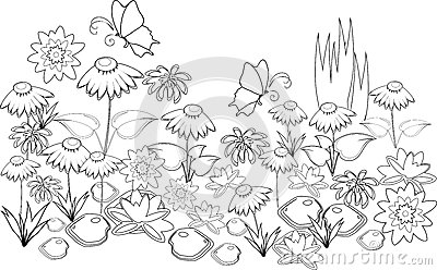 Coloring Page Stock Vector Image 47167212