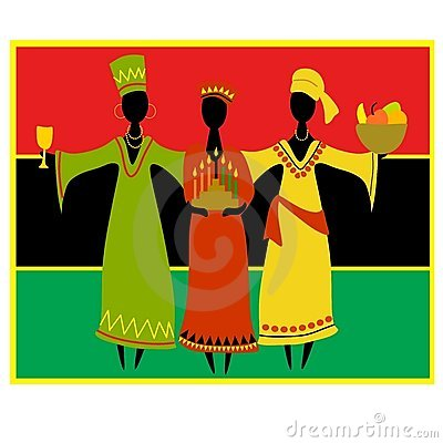 Cultural Kwanzaa Celebration Royalty Free Stock Photos