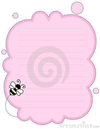 Cute Note Paper Background Stock Photos Image 8015763