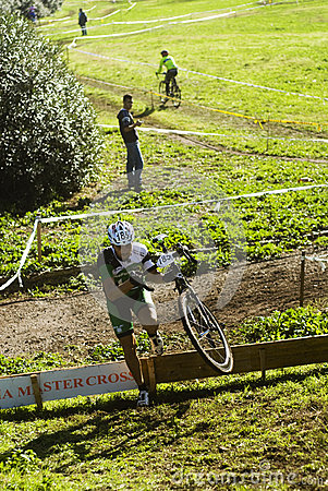 Cycle cross event in Rome