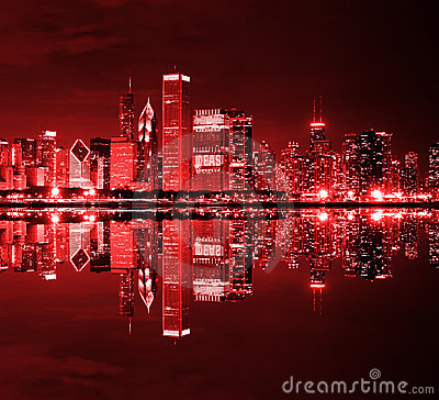 Downtown Chicago Stock Images Image 22147224