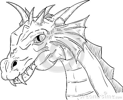 Dragon Head Royalty Free Stock Photography Image 34751237