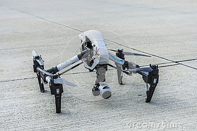 Drone On The Ground Editorial Stock Image - Image: 58646229
