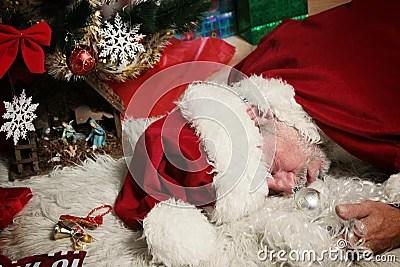 Drunk Santa Claus Stock Images Image 3375144