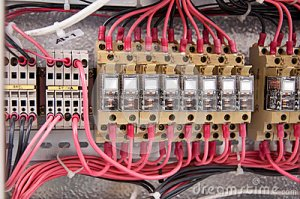 Electrical Wiring Control Panel Diagram Royalty Free Stock Image  Image: 31168876
