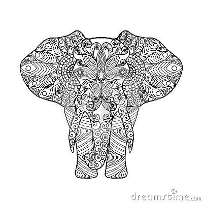 Elephant Stock Vector Image 66737343