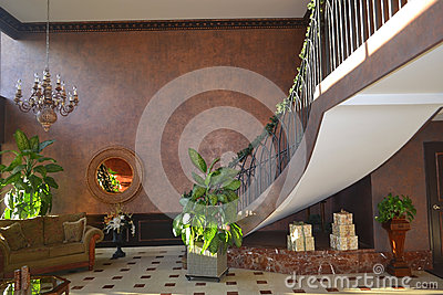 Lobby Of Condo Building Stock Images Image 29860184