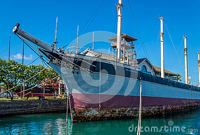 Falls Of Clyde - Hawaii Maritime Museum Editorial Image ...