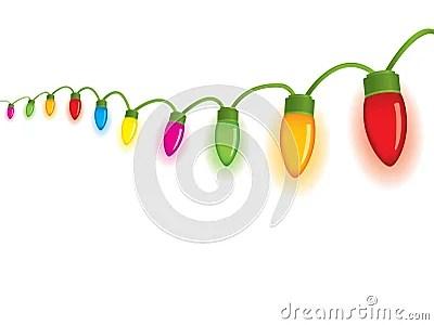 Festive Christmas Lights Stock Photography Image 6917232
