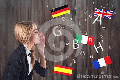 Foreign Language. Concept - learning, speaking,